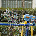 Sound and light automatic bubble gun electric children's toy machine blowing bubble blower bubbly boy super child soap bubbles