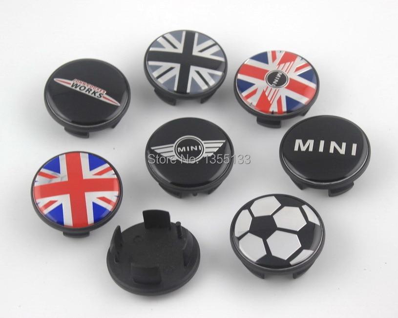 Dhl 100pcs 54mm Mini S John Works Wheel Center Cap Cover