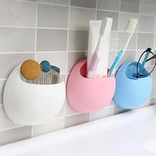Diş fırçası tutucu kalem gözlük tutucu duvar vantuz duş tutucu sevimli enayi emme kanca banyo aksesuarları seti #0305