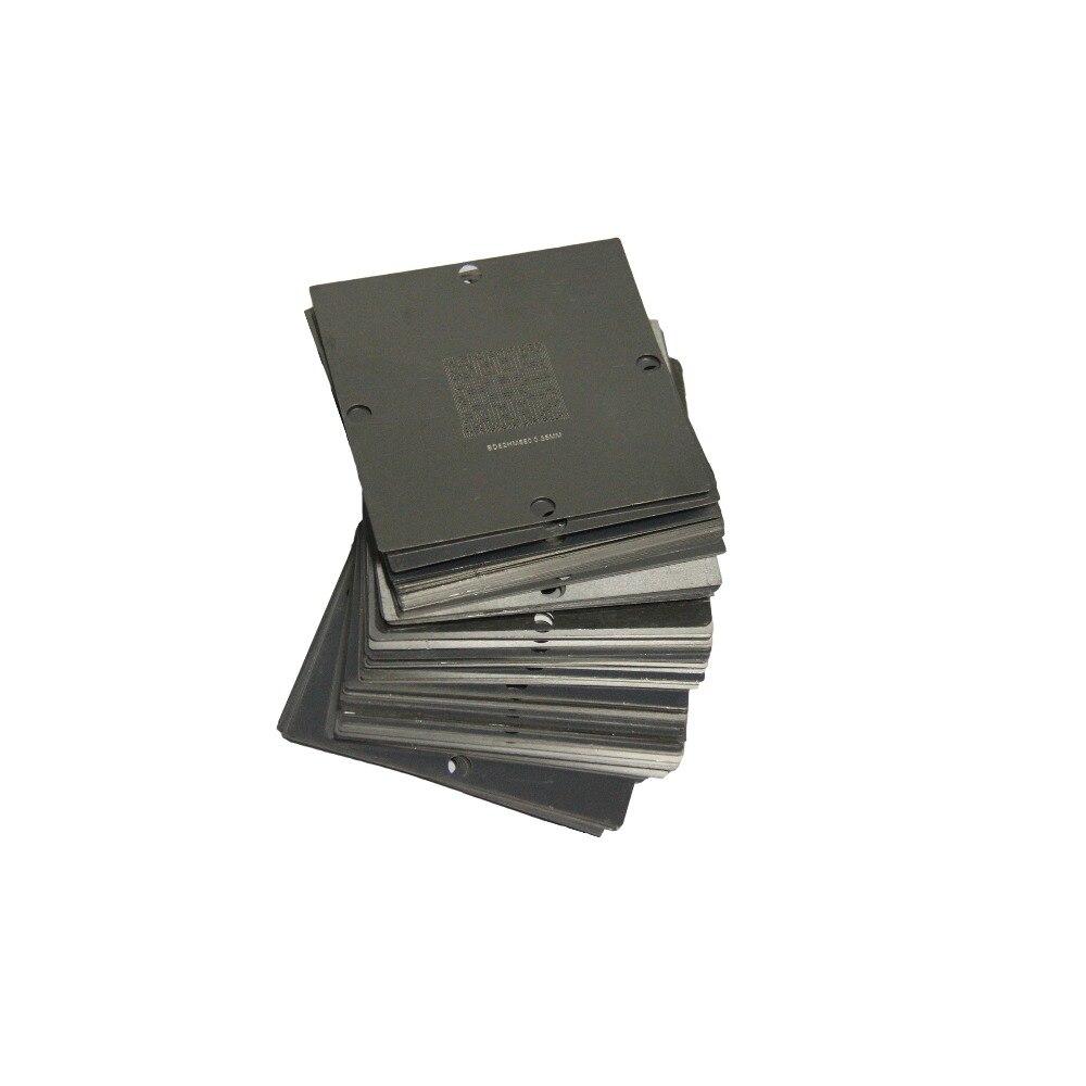 Ingyenes szállítás Komplett 230pcs 80 * 80 90 * 90mm BGA Reballing Stencil