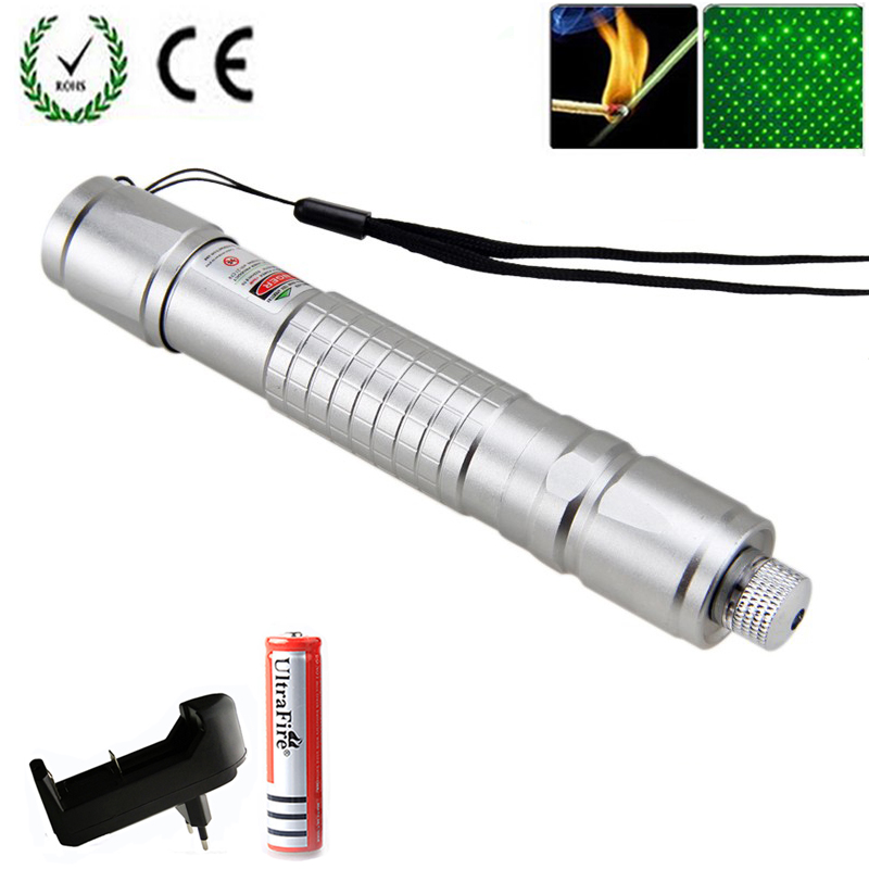Laser-Pointer Lazer Pen Sight 10000m Hunting Green Long-Distance Hot 532 Nm Hang-Type title=