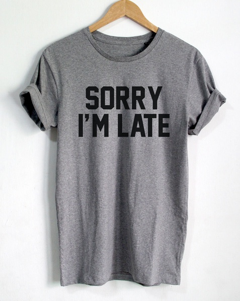 SORRY I/'M NOT IN SERVICE Men/'s Tshirt Funny Casual Instagram Style Tumblr Tee