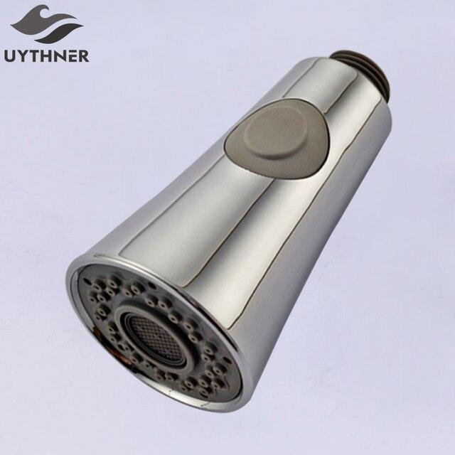Neu Ankunft Poliert Verchromt Küchenarmatur Dusche Dual Sprayer 1/2 ...