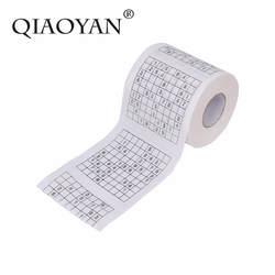 Прочный судоку Su печатные ткани Бумага туалетной Бумага хорошая игра-головоломка