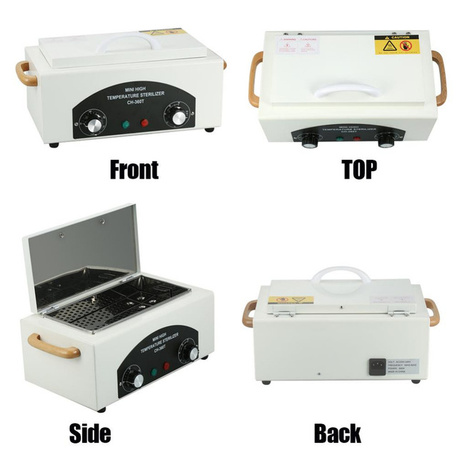 Brand Professional 300w Dry Heat High Temperature Nails Sterilizer Manicure Nail Art Hot Air – Disinfection For Tattoo Tools
