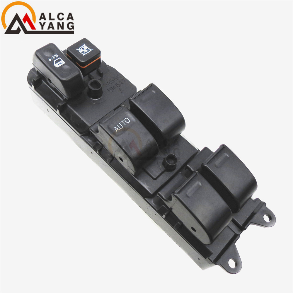 Power Window Master Control Switch 84820-12340 For Toyota Corolla 7AFE 4AFE 3ZZFE new power window switch for toyota avensis 84820 05100 8482005100 driver side window control switch