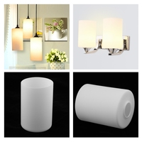 3Pcs Cylindrical Ceiling Light Shade Pendant Lampshade Fixture Dia. 10cm