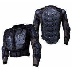 PVC nero + Lycra + EVA Armatura Del Motociclo Abbigliamento Auto Da Corsa di Protezione Abbigliamento Per Lo Sport OutdoorJacket Ri