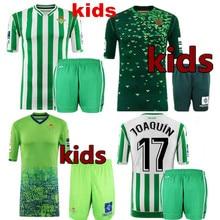 a553de2ea Niño camiseta Real Betis niños kit 18 19 mejor calidad los niños Joaquín  VAN DER