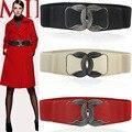 2016 Venda Espartilho Faja Fajas O Elástico das Mulheres Novas esticar Ampla Cinto Cintura 'Mulheres Vestido Decorativo Simples Corpo Feminino cinto