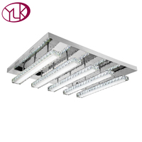 Modern Minimalist Crystal LED Ceiling Light For Living Room Dining Room Low Voltage Led Ceiling Lights