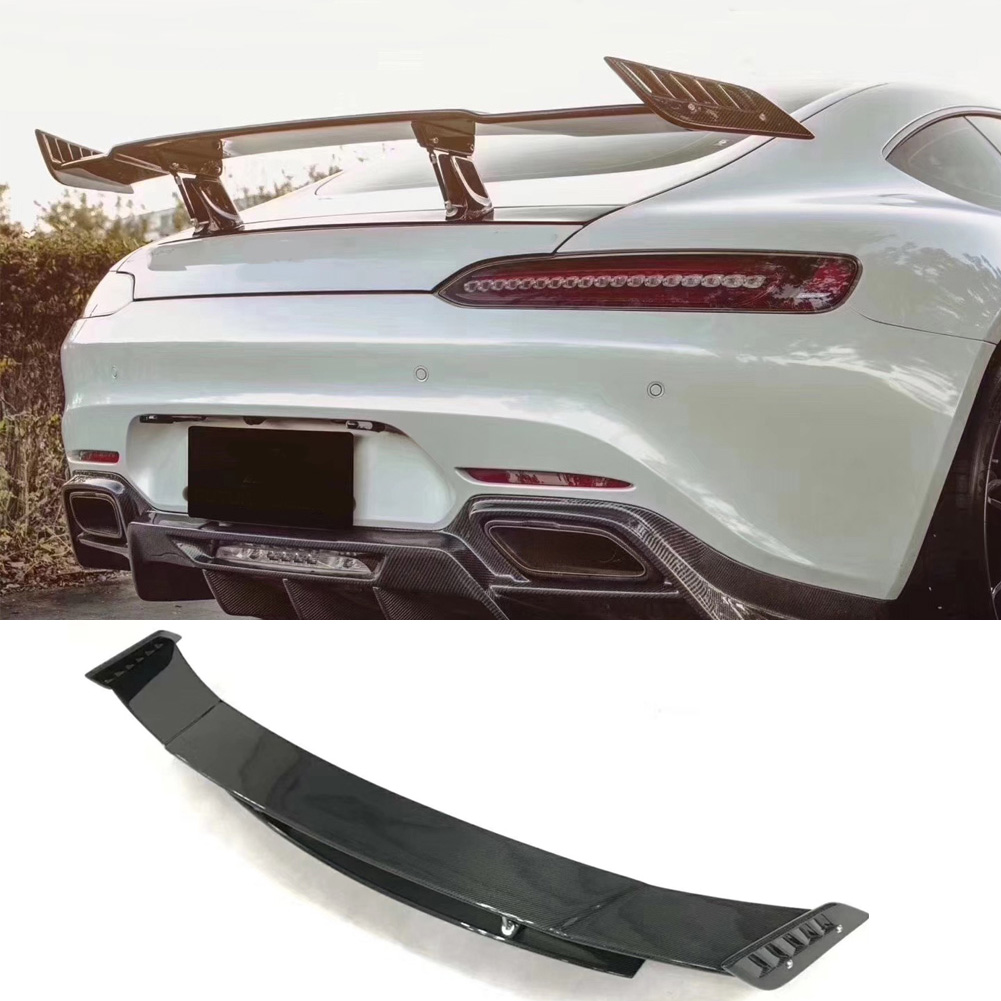 Carbon Fiber Rear Spoiler Tail Trunk Wing Car Accessories For Mercedes Benz AMG GT AMG GTS AMG GTR Spoiler|Spoilers & Wings| |  - title=