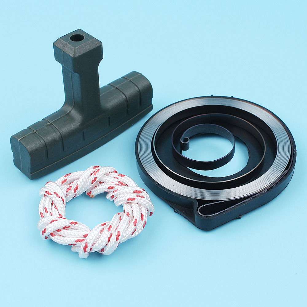 Recoil Starter Spring Handle Grip Rope Kit For Husqvarna 357 359 357XP 350 353 351 346XP 345 340 Chainsaw
