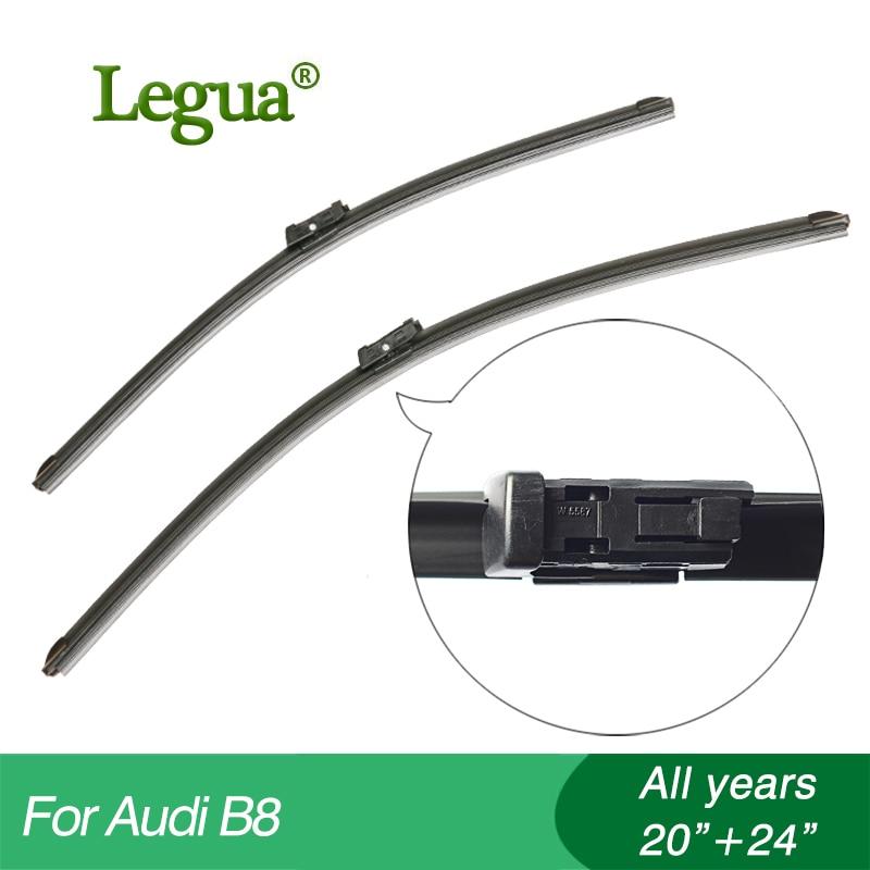 ᑎ‰Legua limpiaparabrisas para Audi B8, 20 24, limpiaparabrisas para ...