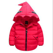 2016 Warm Boy's and girl's Winter down Jackets Newest baby boy's Coats thick duck Down Kids jacket Outerwears HB1045