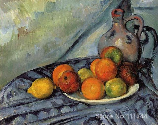 Außergewöhnlich Moderne kunst stillleben Hohe qualität malerei von Paul Cezanne &IY_39