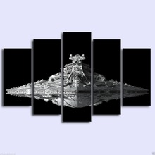 Star Wars Destroyer 5 Panel Wall Picture