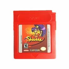 Nintendo Game Boy Color Shantae Cartucho de Consola de Videojuegos Tarjeta de Inglés