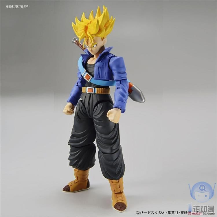Assembled model 17615 FIGURE-RISE Dragon Ball Super Saiyan Tranks DOLL Action Collectible Statue Toy Figure все цены