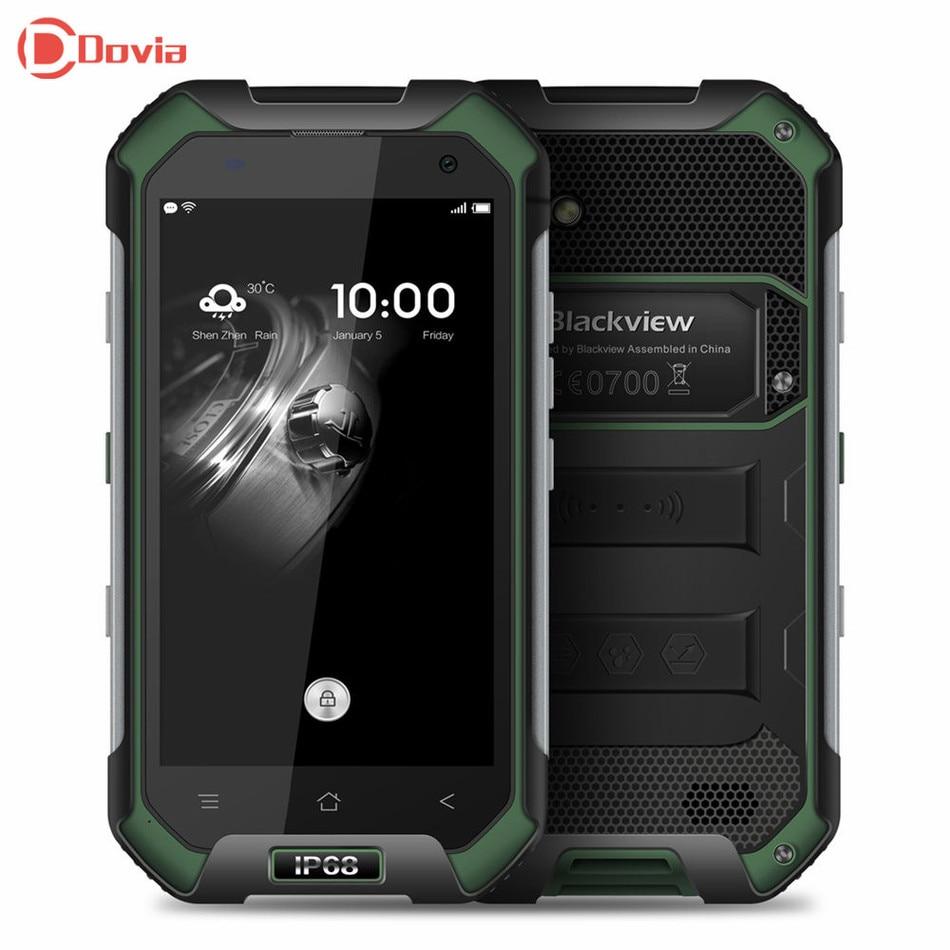 Blackview bv6000s impermeables teléfonos celulares 4.7 pulgadas android 6.0 móvi