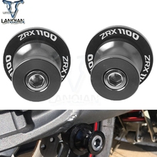 Swingarm Spools Slider Stand Screws Motorcycle 8mm Motor Accessories for kawasaki ZRX1100 1999-2000