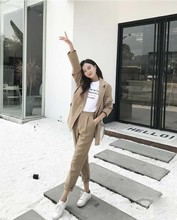womens business suits female office uniform formal pant suits for weddings ladies trouser suit Jacket+Pants