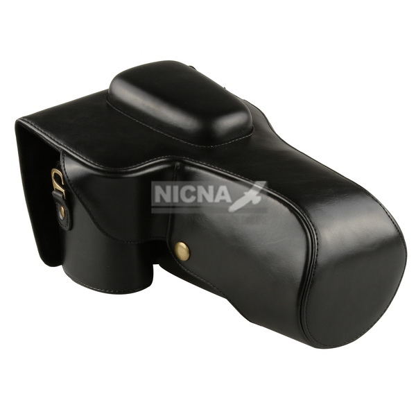 Черный DSLR Камеры Кожаный Чехол для Canon EOS 700D 650D 600D Rebel T5i T4i T3i