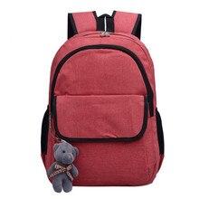 Горячая Распродажа 2017 года на женские парусиновые модные дорожная сумка Подвеска школа сумка рюкзак сумка Оптовая A2000