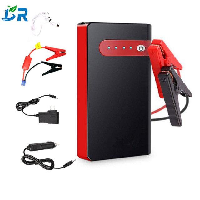 Car Jump Starter 12V Portable Car Charger Multi-function Start Jumper Emergency Car Battery Booster Buster Jumpstarter
