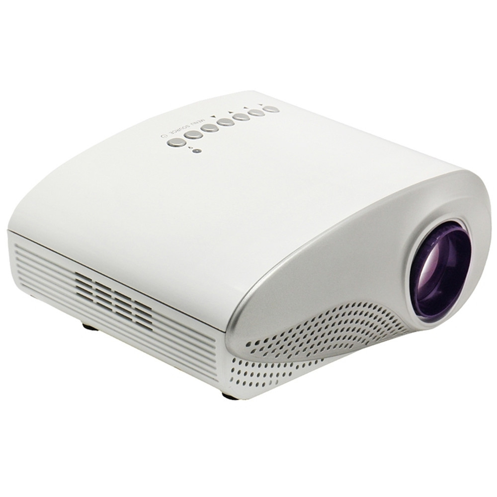 Rd 802 portable projector proyector led lcd portable mini for Portable video projector