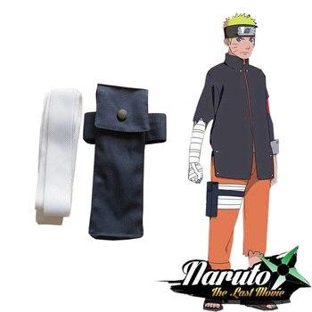 cebd95210 Envío Gratis Naruto Shippuden Anime-dibujos Uzumaki Naruto Ninja Kunai  bolsa de pierna de la venda y Anime Accesorios