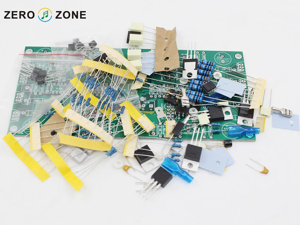 GZLOZONE KHD-4000 Headphone Amplifier Kit Desktop Amplifier Kit