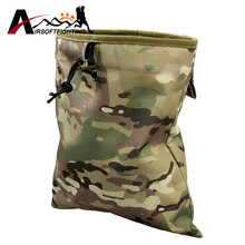 Airsoft Tactical Magazine Dump Drop Pouch font b Bag b font Hunting Molle Belt Magazine Pouch