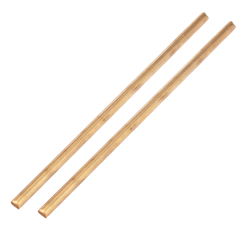 Brass Rod Bar Unpolished Round Rod Blank Scales Blade Handle M2-M20 500mm length