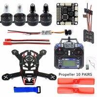 Full H150 Racing Quadcopter DIY Mini Indoor Racer 150mm Carbon Fiber Frame With Flysky FS I6