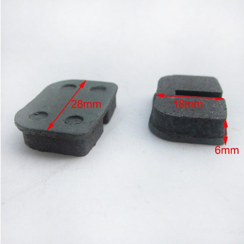 1 пара тормозные колодки для электрический скутер 47cc 49cc 2stroke