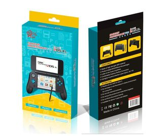 Image 5 - 3 で 1 ゲームアクセサリーキット nintend 新 2DS ll xl コンソールハンドグリップ + クリスタルケース + プラスチックスタイラスペンスタイラス