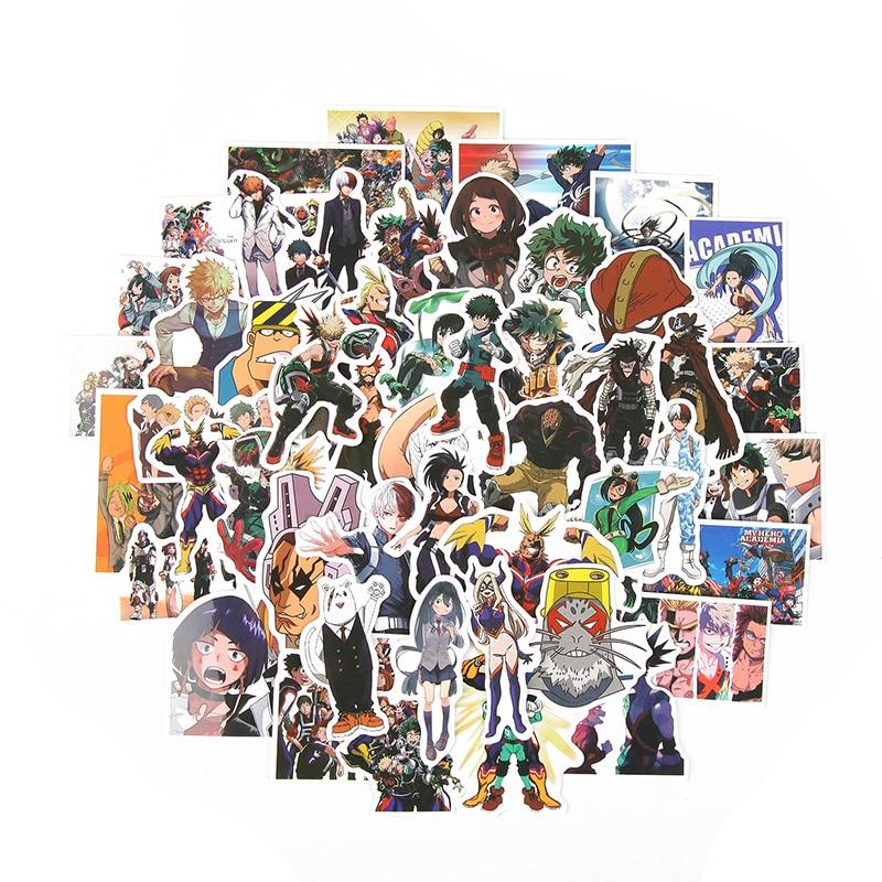 Stetig Td Zw 50 Teile/los Mein Hero Wissenschaft Aufkleber Klassische Japan Anime Aufkleber Moderne Beliebte Laptop Gepäck Auto Skateboard Telefon Aufkleber