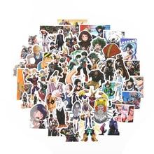 Стикеры TD ZW 50 шт./лот моя геройская академия, Классические Японские Аниме Стикеры, современные популярные наклейки на ноутбук, багаж, автомобиль, скейтборд, телефон