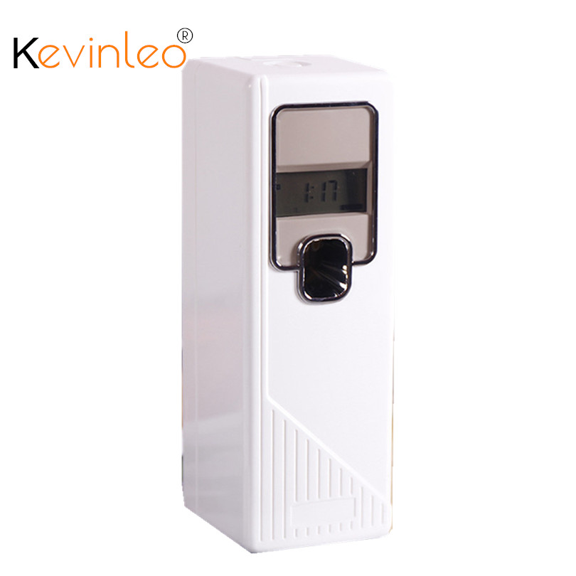 Automatic Air Fresheners LED Aerosol Air Freshener Dispenser LCD Digital Display Perfume Sprayer Machine New Home Office Hotel car outlet perfume air freshener with thermometer lime