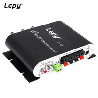 Lepy LP 838 Car Channel Amplifier Stereo Subwoofer Audio Accessory Connect With Smart Phones Computers MP3