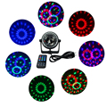 Mini 3W led stage light with wireless remote AC85-265V Sound activated Crystal Disco Ball light for Party,KTV,Bar etc.