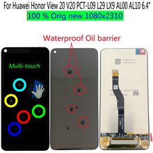 "Shyueda 100% Orig New A+ For Huawei Honor View 20 PCT-L09 PCT-L29 PCT-LX9 PCT-AL00 AL10 6.4"" LCD Display Touch Screen Digitizer(China)"