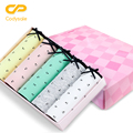Codysale Panties Women Lovely Briefs Bow Cotton Briefs Elastic Dot Print Panties Low-Rise Underwear For Women 5 Pcs/lot M-L-XL