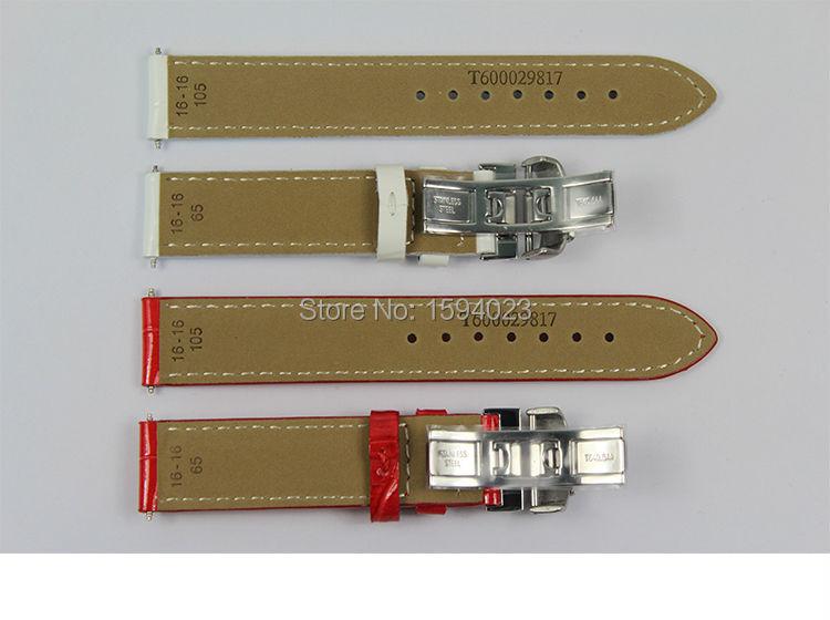 16 mm (hebilla 16 mm) T050217A hebilla de mariposa de plata de alta - Accesorios para relojes - foto 5