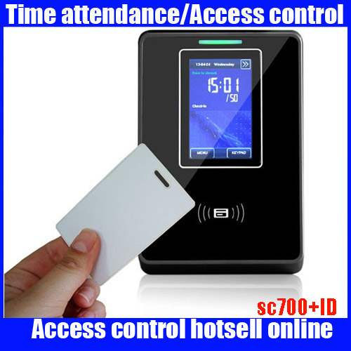 TCP/IP,USB-host Network Touch Screen Sc700 Smart ID Access Control Time Attendance SystemTCP/IP,USB-host Network Touch Screen Sc700 Smart ID Access Control Time Attendance System