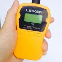 미니 주파수 카운터 미터 LCD 디스플레이 주파수 카운터 N8 두 방법 라디오 무전기 IBQ102 트랜시버 GSM 1--1000MHZ