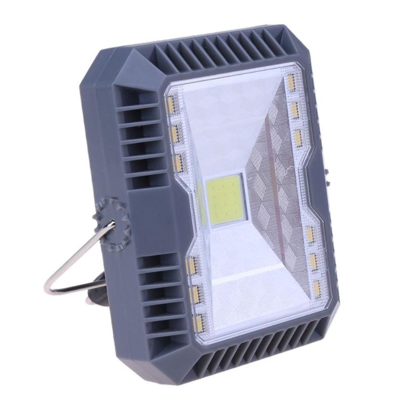 Handheld Solar Floodlight Spotlight 3 Modes USB Rechargeable COB Working Solar Lamp Outdoor Camping Emergency Lamp Floodlight ...