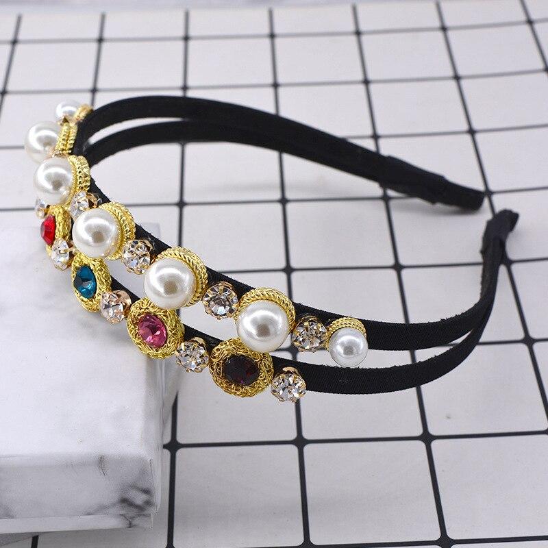 Crystal Pearl Headband...