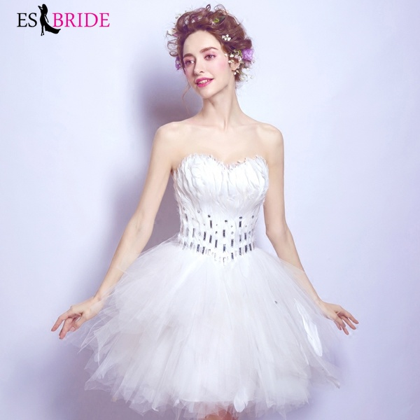 White Formal Vestidos De Fiesta De Noche Strapless Sexy Backless   Evening     Dresses   Elegant   Evening     Dress   Robe De Soiree ES2282